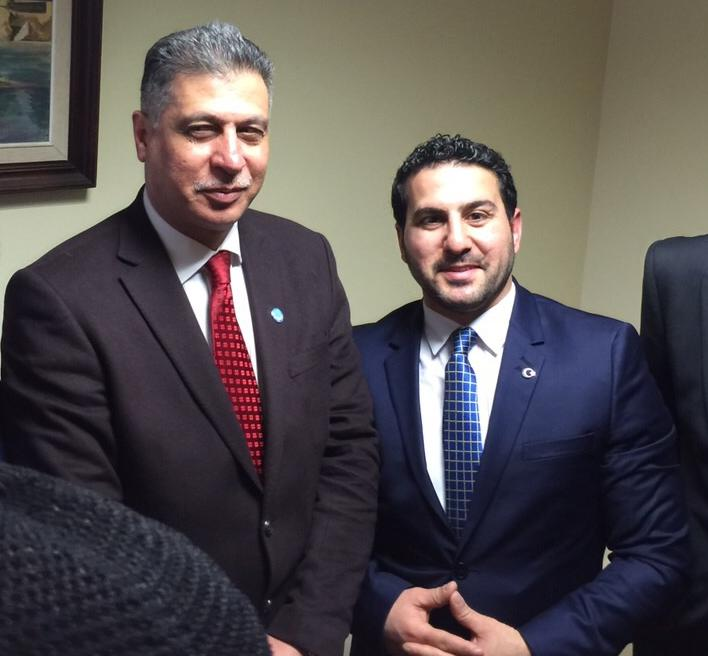 Irak Türkmen Cephesi partisi (ITC) Genel Başkanı ve Irak milletvekili, Türkmen'in Lider Erşat Salihi ve Eşref Kerküklü 2015 ilk baharından İstanbul'da görüştüler.
