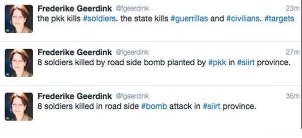 Frederike-Geerdink-tweet provokasyonu