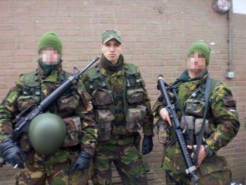 salih yilmaz hollanda ordusu mensubu