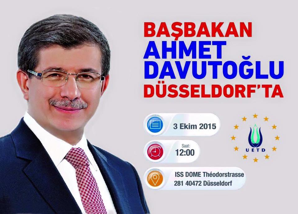ahmet davutoglu 3 ekim 2015 dusseldorf2 YENI
