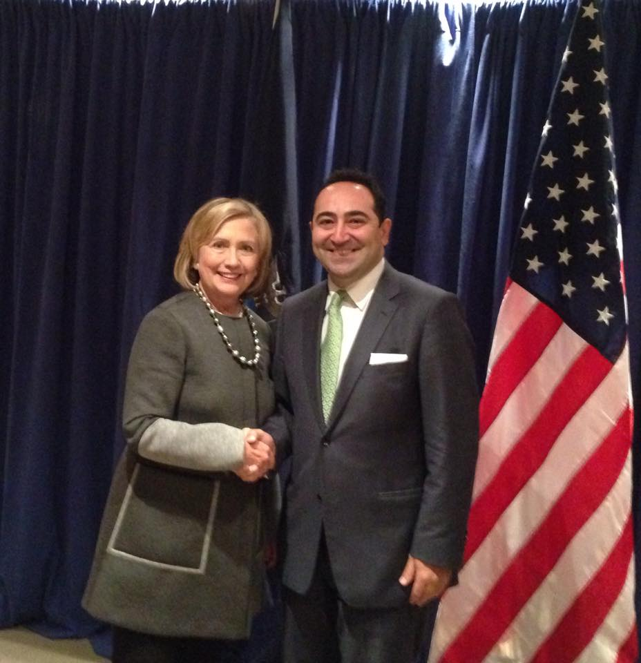 Ali_Cinar_Hillary_Clinton
