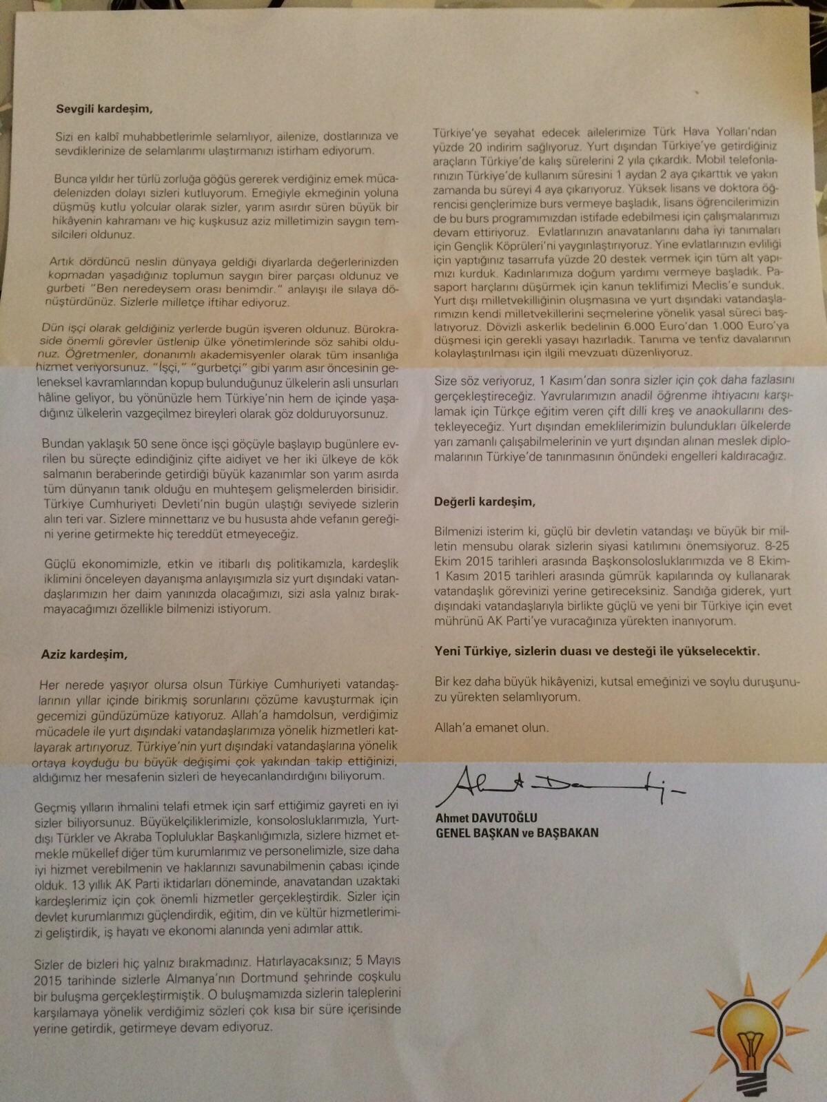 davutoglu hollanda turkleri mektup2